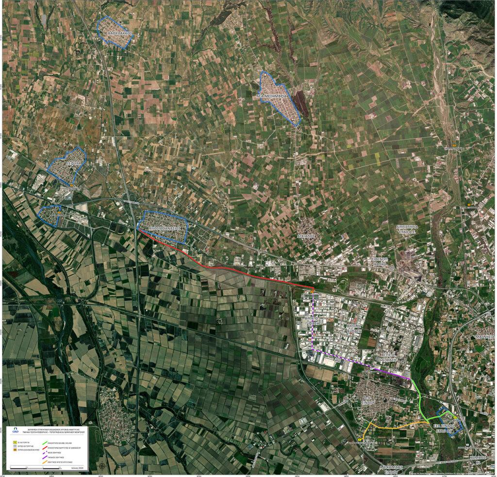 ag athanasios map